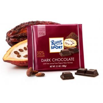 Ritter Chocolate Amargo 50%...
